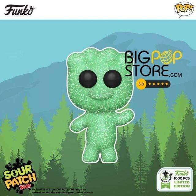 #funko first look at the upcoming #gitd #sourpatchkid #funkopop for #eccc...
