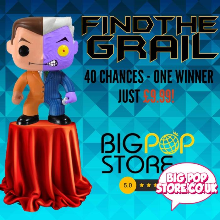 Big Pop Store - Find The Grail Two Face Funko Lucky Box Other