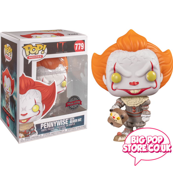 It - Pennywise With Beaver Hat [779] Pop Vinyl